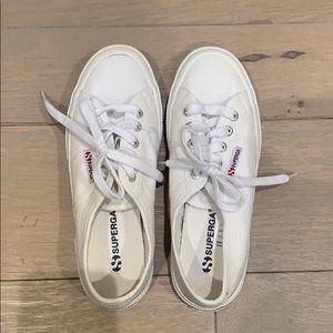 Superga shoes white 6.5